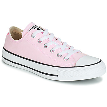 Shoes Women Low top trainers Converse CHUCK TAYLOR ALL STAR SEASONAL CANVAS OX Pink