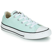 Shoes Girl Low top trainers Converse CHUCK TAYLOR ALL STAR SEASONAL CANVAS OX Blue