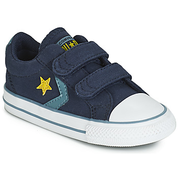 Shoes Boy Low top trainers Converse STAR PLAYER 2V CANVAS OX Blue