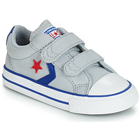 Shoes Boy Low top trainers Converse STAR PLAYER 2V CANVAS OX Grey