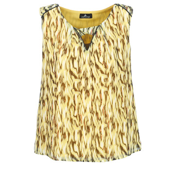 material Women Blouses One Step MAFA Yellow