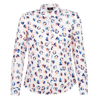 material Women Shirts One Step SYLVIA White / Multicoloured