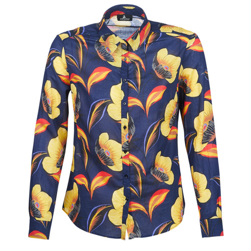 material Women Shirts One Step LILLY'S Blue / Yellow