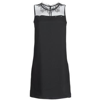 material Women Short Dresses One Step TINA Black