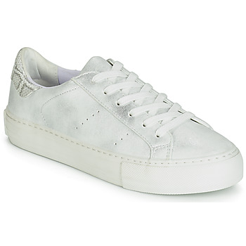 Shoes Women Low top trainers No Name ARCADE White / Silver