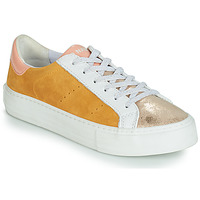 Shoes Women Low top trainers No Name ARCADE White / Gold / Yellow