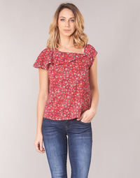 material Women Blouses Ikks BN11345-35 Coral / Multicoloured