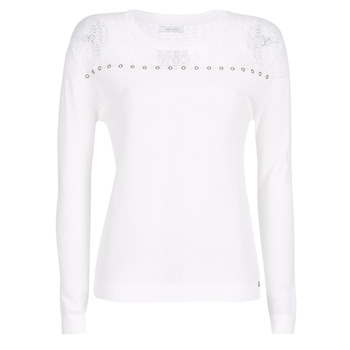 material Women jumpers Ikks BN18305-11 White