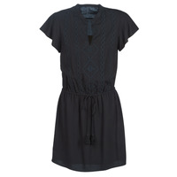 material Women Short Dresses Ikks BN30035-02 Black
