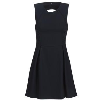 material Women Short Dresses Ikks BN31035-549 Marine