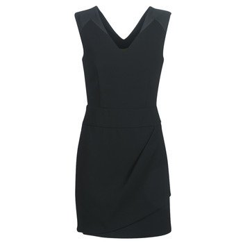 material Women Short Dresses Ikks BN31105-02 Black