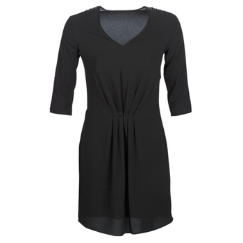 material Women Short Dresses Ikks BN30015-02 Black