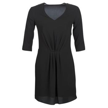 material Women Short Dresses Ikks  Black