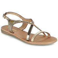 Shoes Women Sandals Les Tropéziennes par M Belarbi HANANO Gold