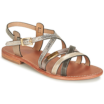 Shoes Women Sandals Les Tropéziennes par M Belarbi HAPAX Taupe / Serpent