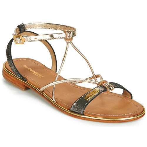 Shoes Women Sandals Les Tropéziennes par M Belarbi HIRONDEL Black / Iris