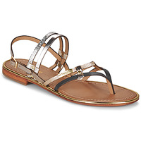Shoes Women Sandals Les Tropéziennes par M Belarbi CUMIN Taupe / Gold