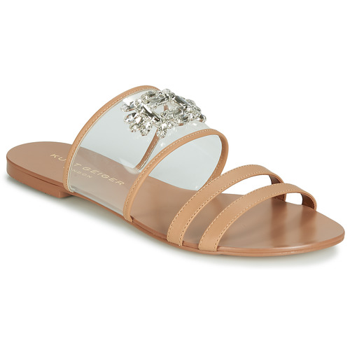 9c4146226861 KG by Kurt Geiger PIA VINYL SANDAL Camel - Fast delivery with ...