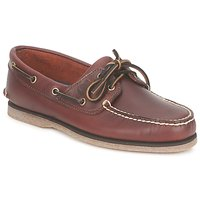 Shoes Men Boat shoes Timberland CLASSIC 2 EYE Rootbeer / Smooth