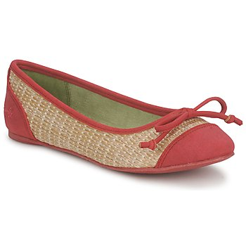 Shoes Women Ballerinas Blowfish NITA Red