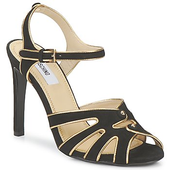 Shoes Women Sandals Moschino MA1604 Black