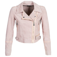 material Women Leather jackets / Imitation leather Guess JUNKO Pink