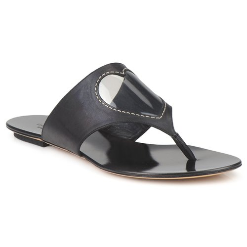Shoes Women Flip flops Moschino Cheap & CHIC CALOTROPIS Black