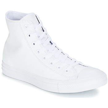 Shoes High top trainers Converse ALL STAR MONOCHROME CUIR HI White