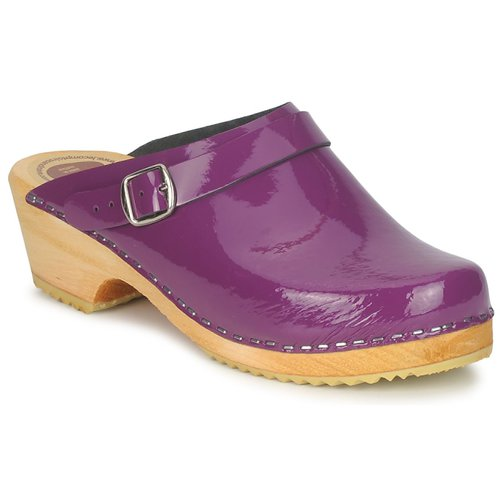 Shoes Women Clogs Le comptoir scandinave EKRALO Violet