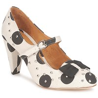 Shoes Women Court shoes Maloles CLARITA White / Black