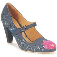 Shoes Women Court shoes Maloles CLOTHILDE Grey / Pink