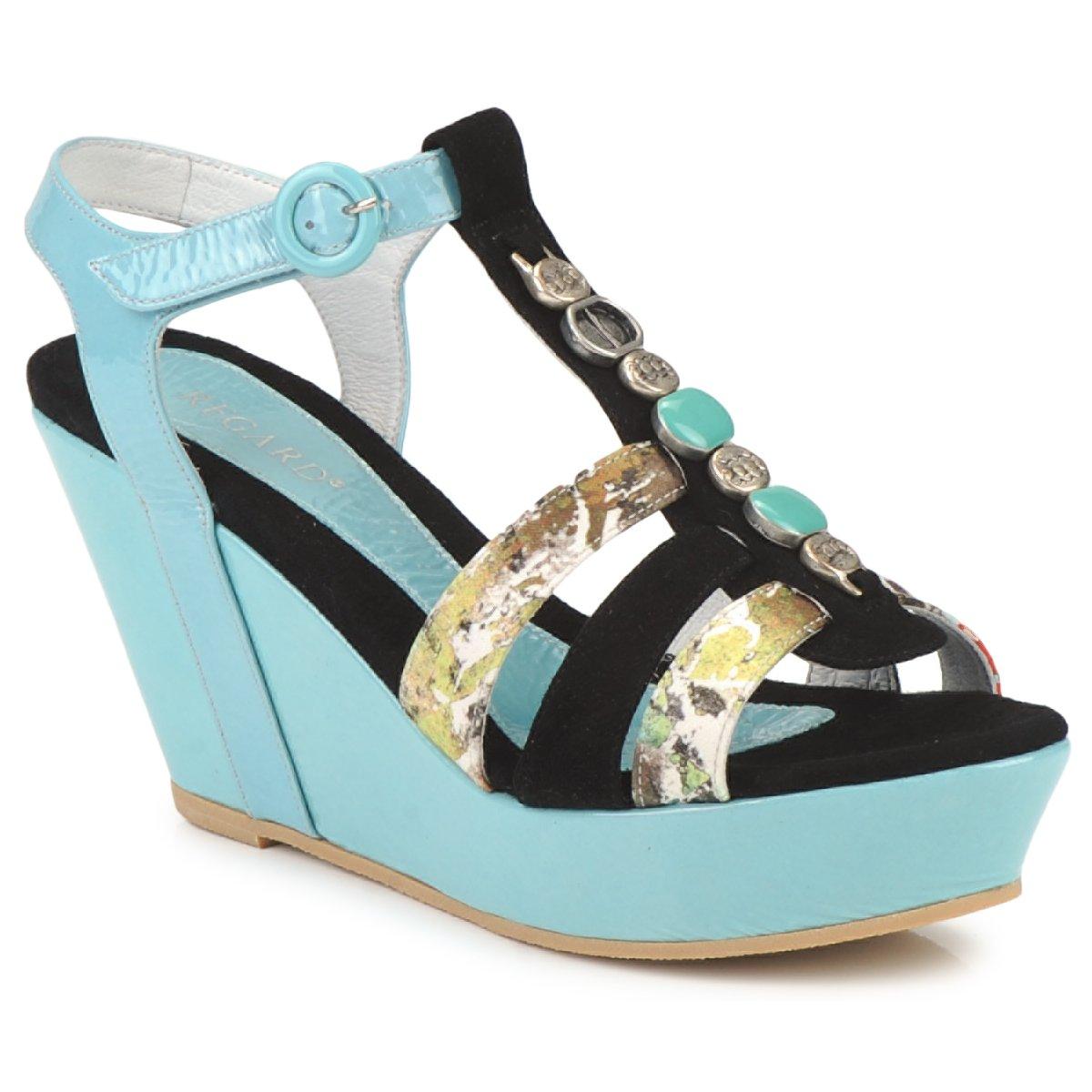 Sandals Regard RAFAVO Black / Blue