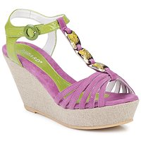 Shoes Women Sandals Regard RAFAZA Violin / Green