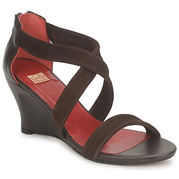 Shoes Women Sandals Vialis NIVEL Brown