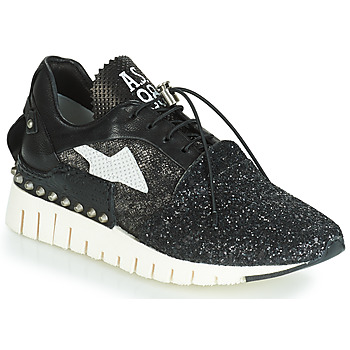 Shoes Women Low top trainers Airstep / A.S.98 DENALUX Black