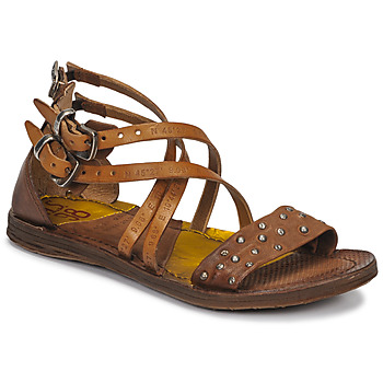 Shoes Women Sandals Airstep / A.S.98 RAMOS CLOU Camel