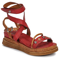 Shoes Women Sandals Airstep / A.S.98 LAGOS Red
