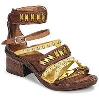 Shoes Women Sandals Airstep / A.S.98 KENYA Camel / Yellow