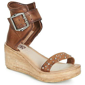 Shoes Women Sandals Airstep / A.S.98 NOA CLOU Camel
