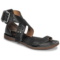 Shoes Women Sandals Airstep / A.S.98 RAMOS CROISE Black