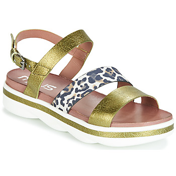 Shoes Women Sandals Mjus TALISMAN Green / Leo