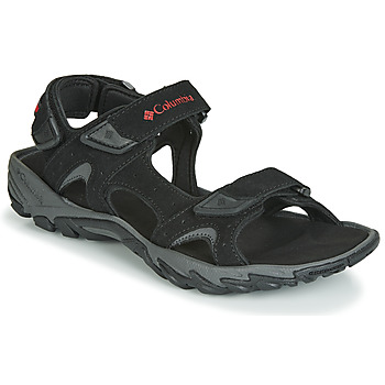 Shoes Men Sports sandals Columbia SANTIAM 3 STRAP Black