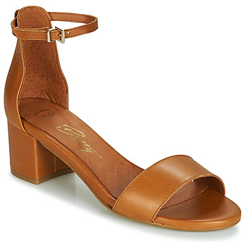 Shoes Women Sandals Betty London INNAMATA Camel