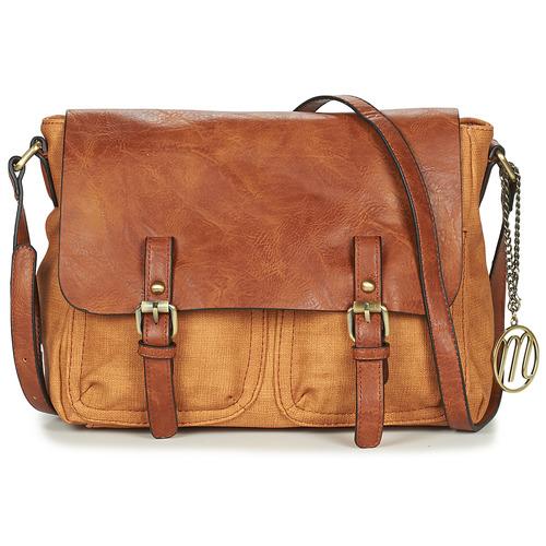 Bags Women Shoulder bags Moony Mood TINA Camel
