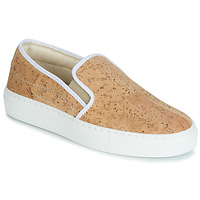 Shoes Women Slip ons Dream in Green JAKAMORI Beige
