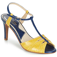 Shoes Women Sandals Ippon Vintage DROP BACK Marine / Yellow
