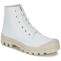Shoes Men High top trainers Casual Attitude MADIMA White