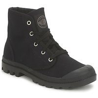 Shoes Women Mid boots Palladium US PAMPA HI Black