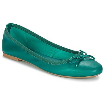 Shoes Women Ballerinas André PIETRA Green
