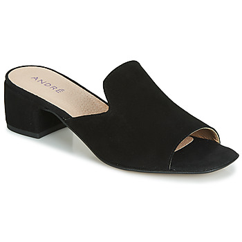 Shoes Women Mules André SENSASS Black